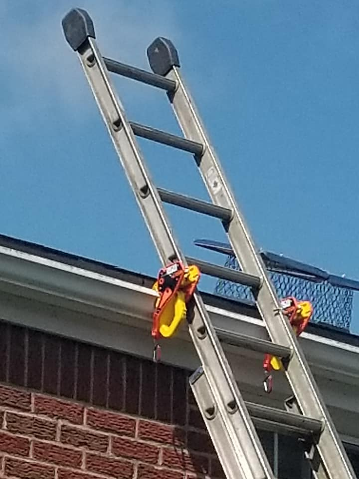 Ladder Safety such an important topic. Lock Jaw Ladder Grip.
